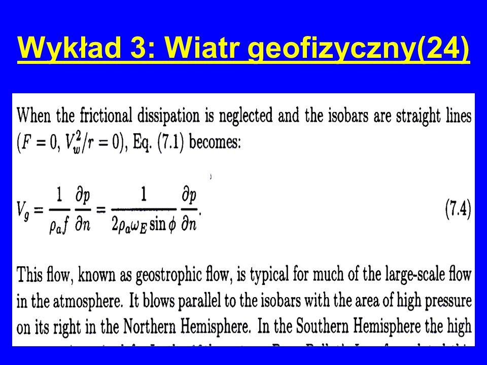 Wykład 3: Wiatr geofizyczny(24)
