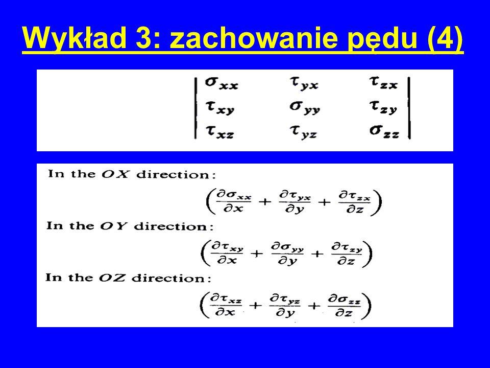 Wykład 3: zachowanie pędu (4)