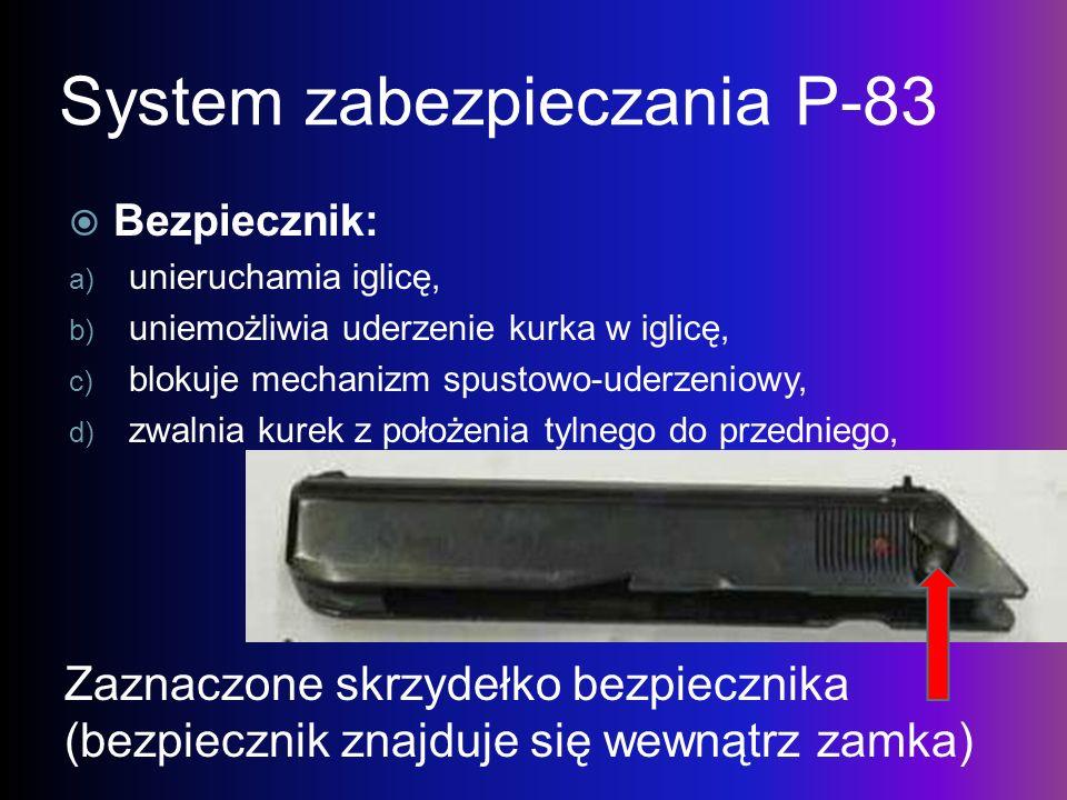 System zabezpieczania P-83