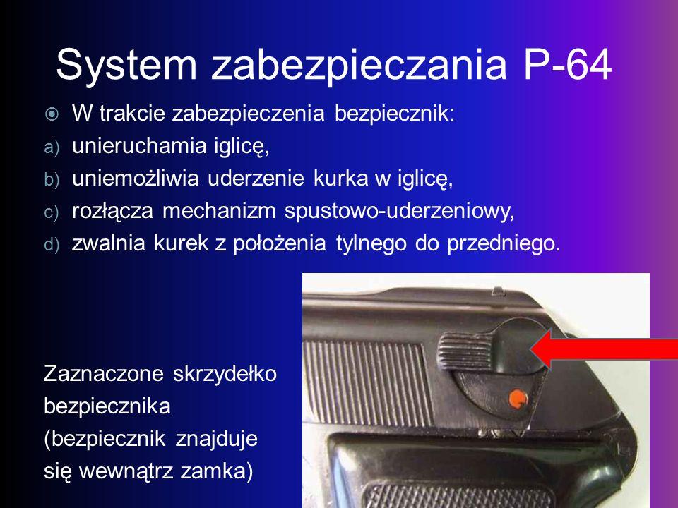 System zabezpieczania P-64