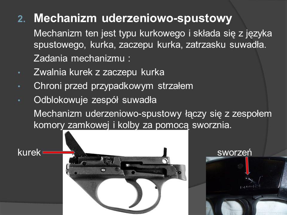 Mechanizm uderzeniowo-spustowy