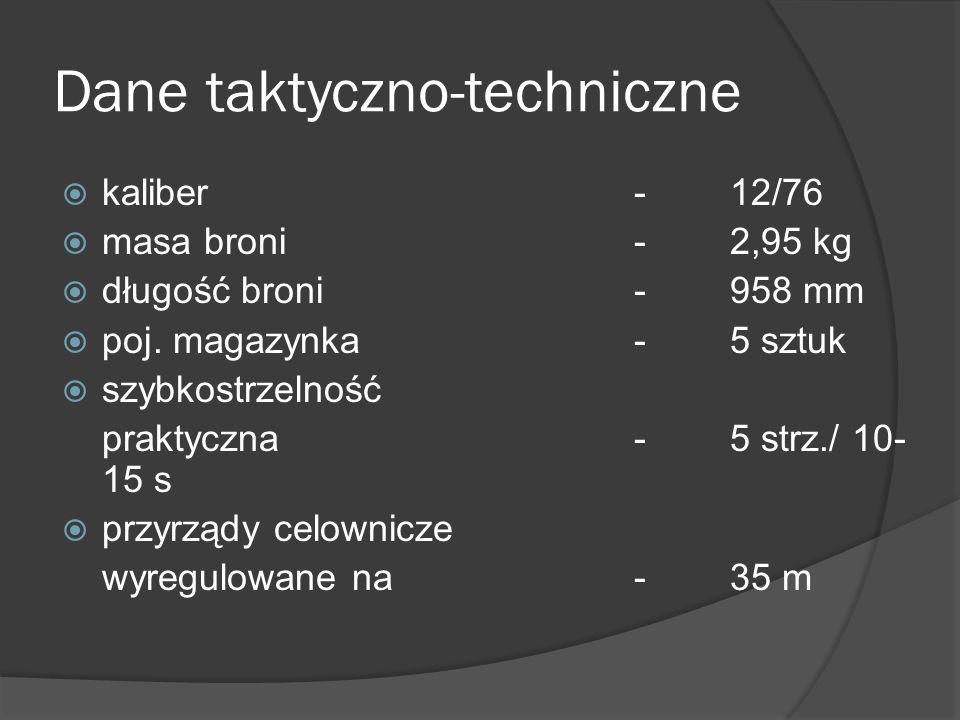 Dane taktyczno-techniczne