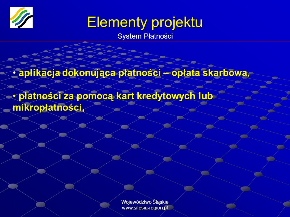 Elementy projektu System Płatności