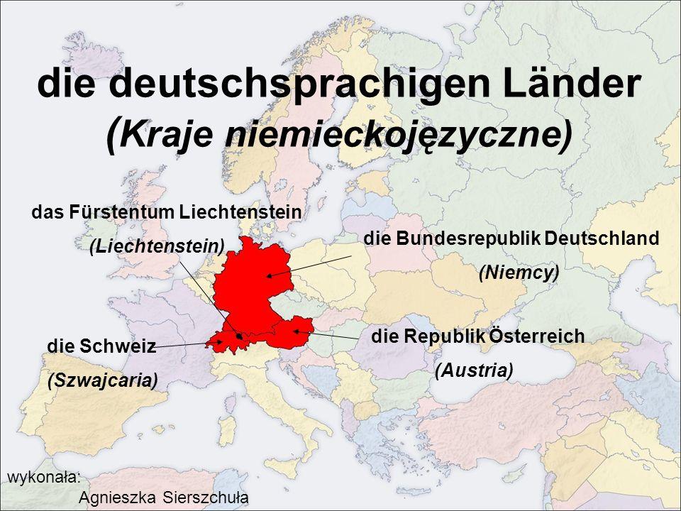 die deutschsprachigen Länder (Kraje niemieckojęzyczne)
