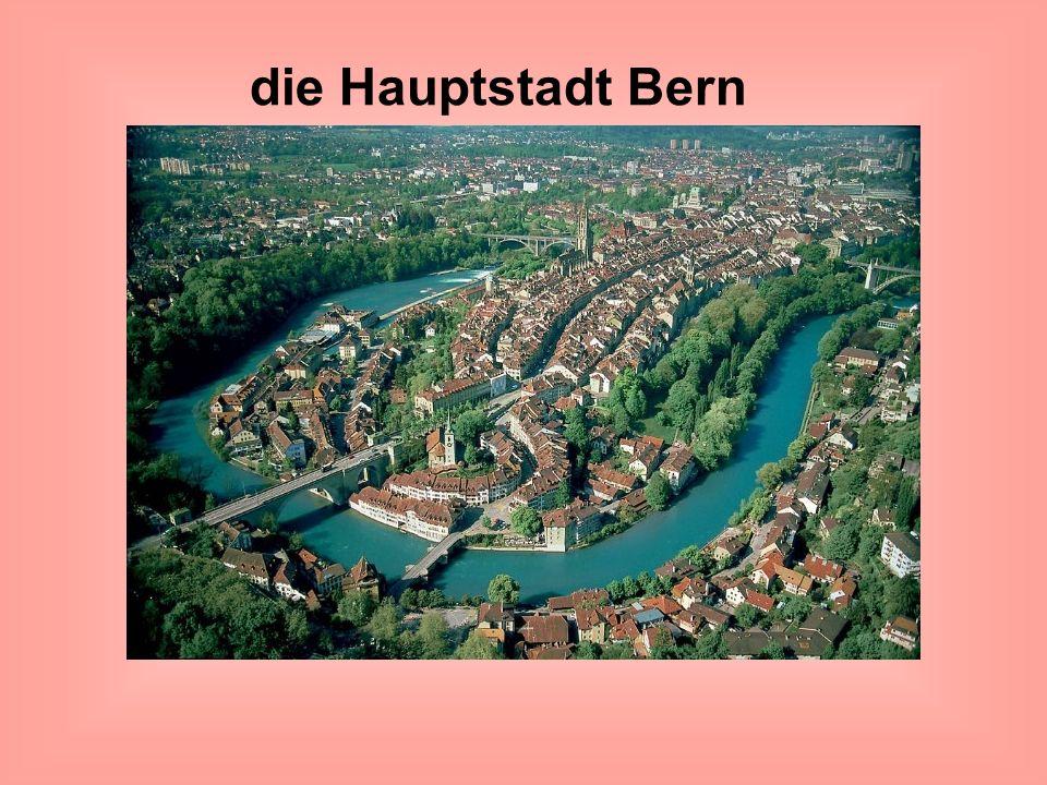 die Hauptstadt Bern (Stolica Szwajcarii- Bern)