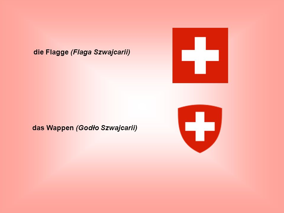 die Flagge (Flaga Szwajcarii)