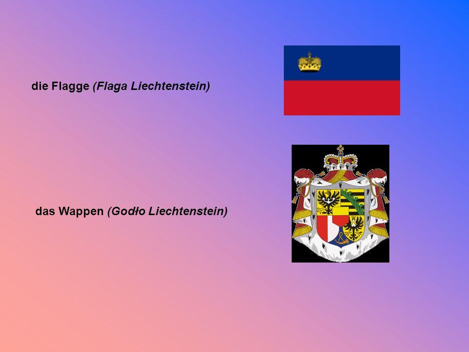 die Flagge (Flaga Liechtenstein)
