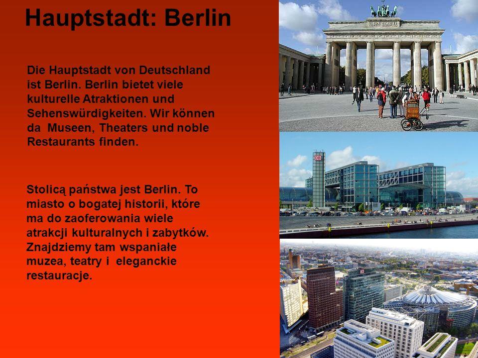 Hauptstadt: Berlin Brandenburger Tor