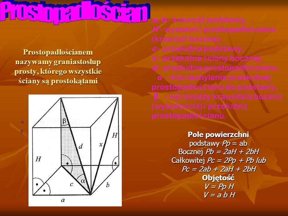 Całkowitej Pc = 2Pp + Pb lub
