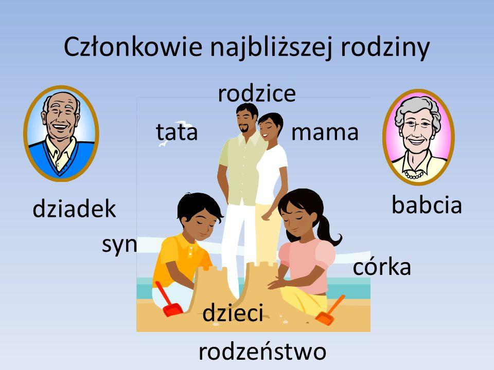 Członkowie najbliższej rodziny
