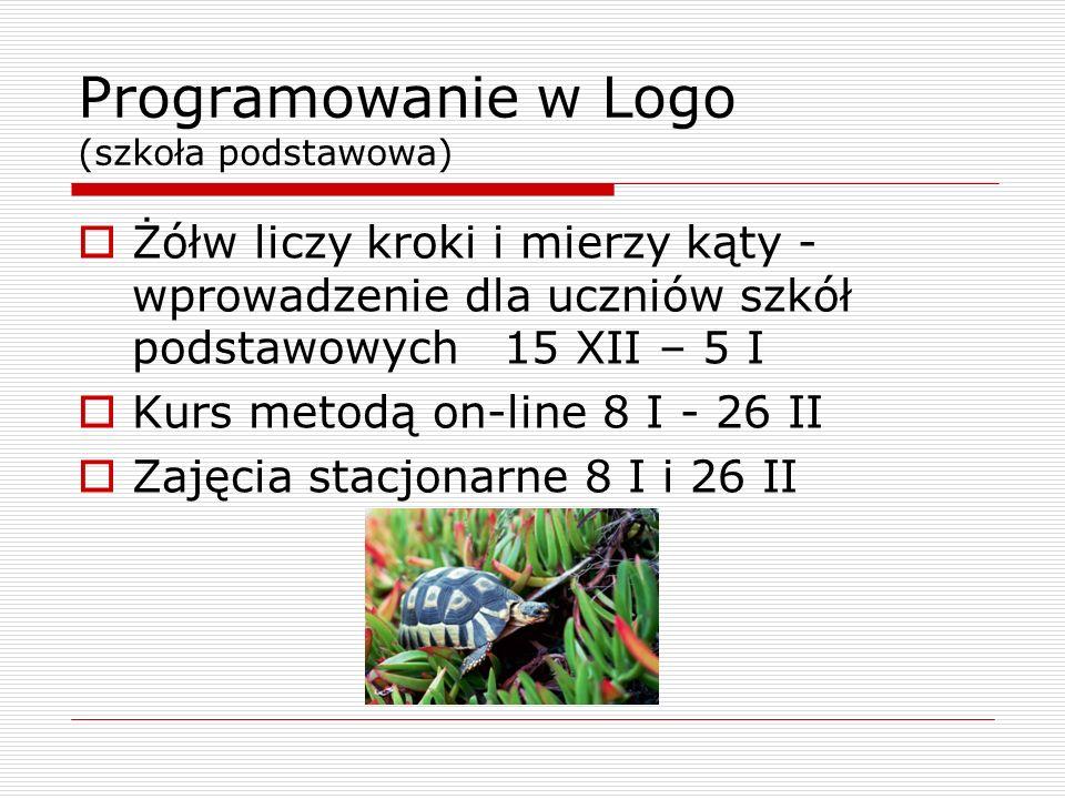 Programowanie w Logo (szkoła podstawowa)