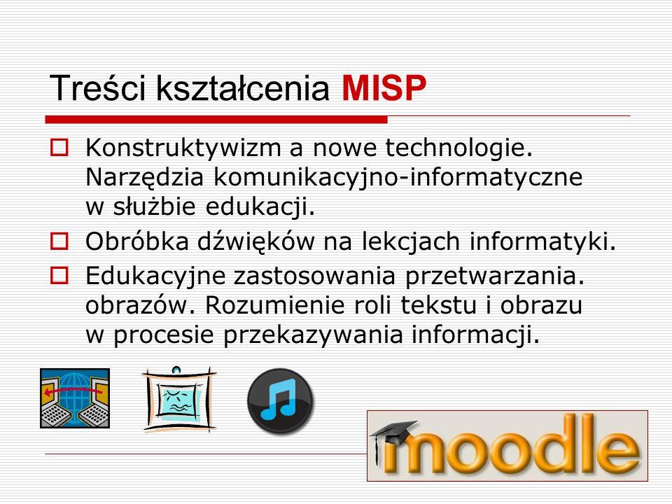 Treści kształcenia MISP