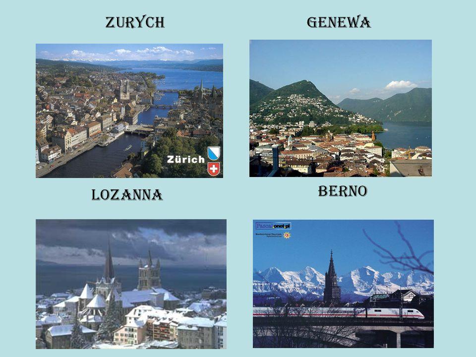 Zurych Genewa Berno Lozanna