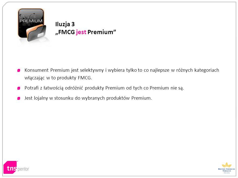 """Iluzja 3 """"FMCG jest Premium"""