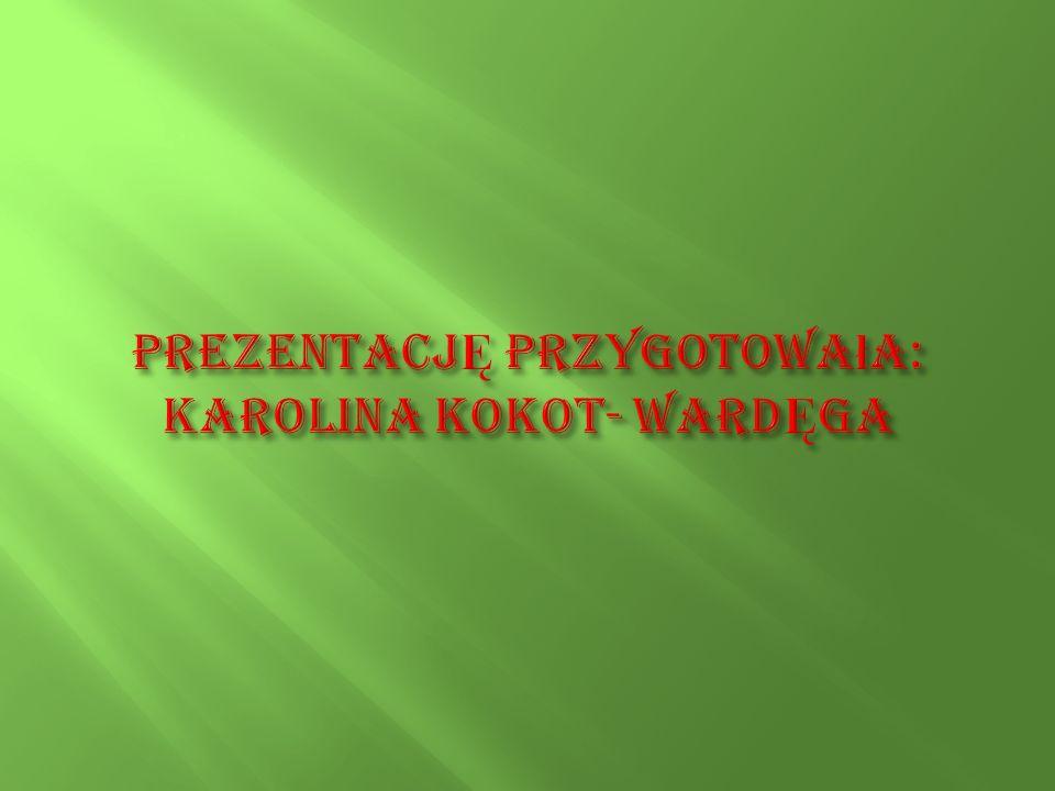 PrezentacjĘ przygotowała: Karolina Kokot- WardĘga