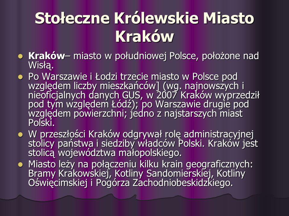 Stołeczne Królewskie Miasto Kraków