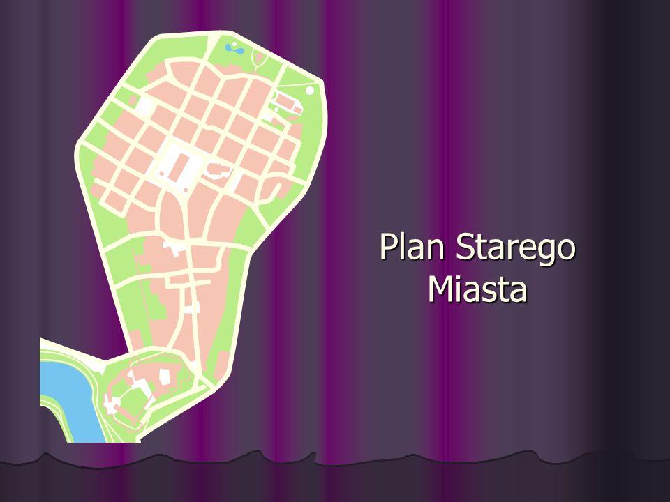 Plan Starego Miasta