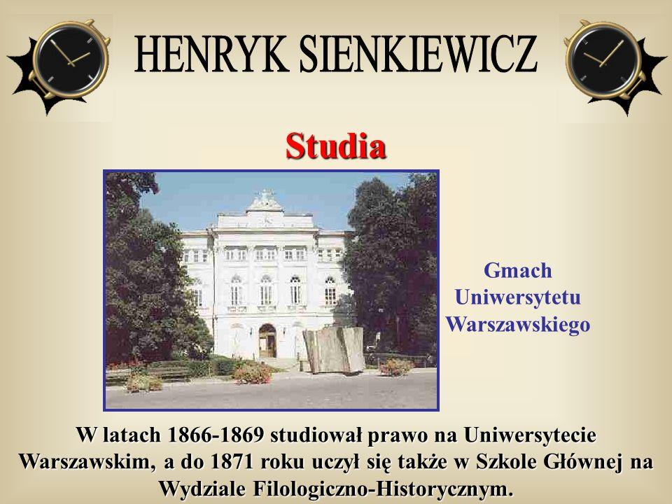 Gmach Uniwersytetu Warszawskiego