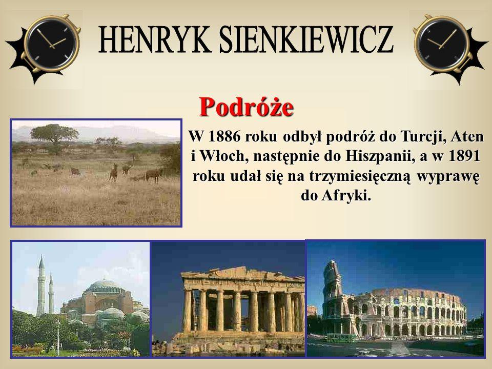 Podróże HENRYK SIENKIEWICZ
