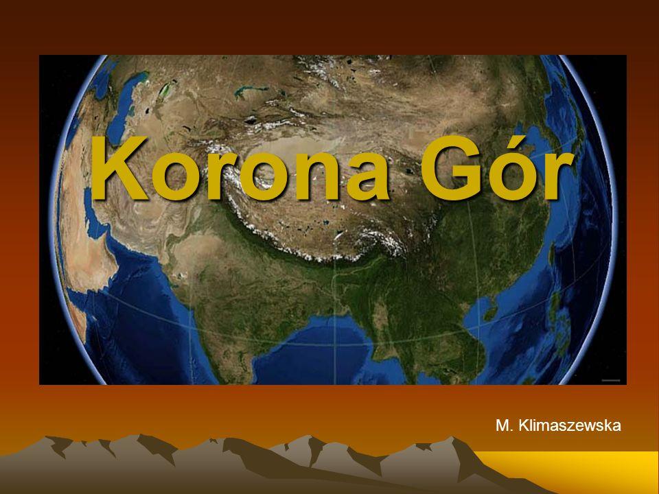 Korona Gór M. Klimaszewska