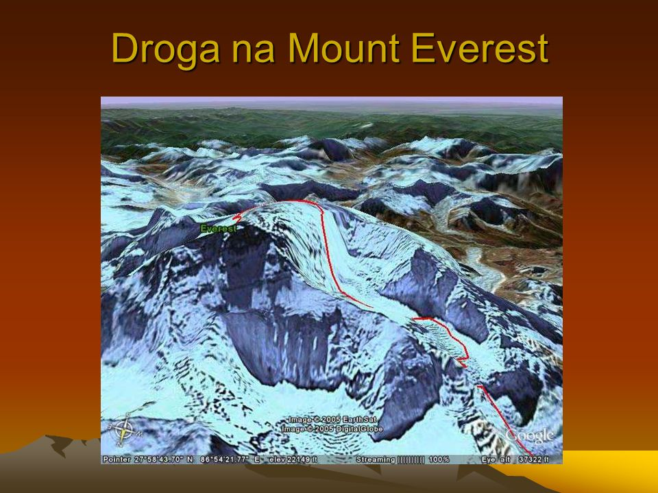 Droga na Mount Everest