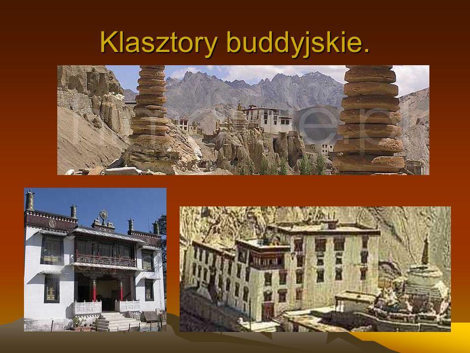 Klasztory buddyjskie.