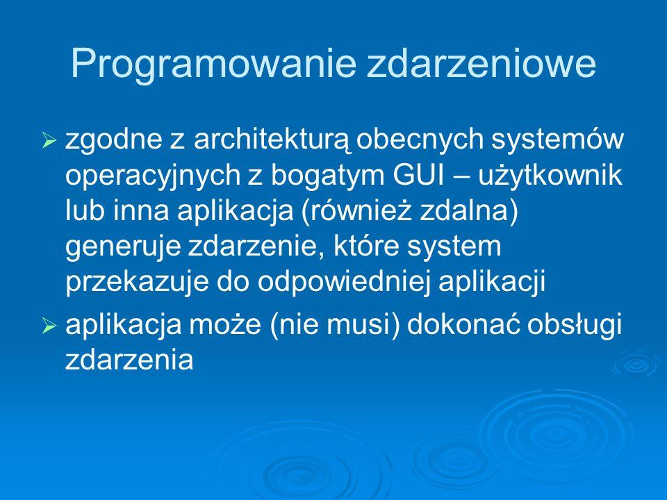 Programowanie zdarzeniowe