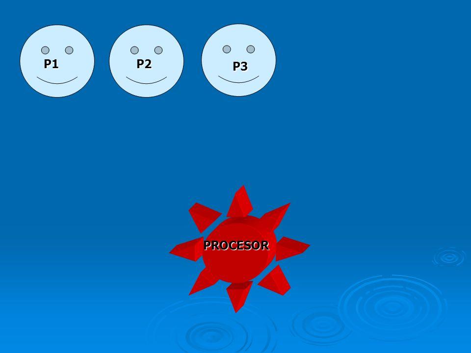 P1 P2 P3 PROCESOR