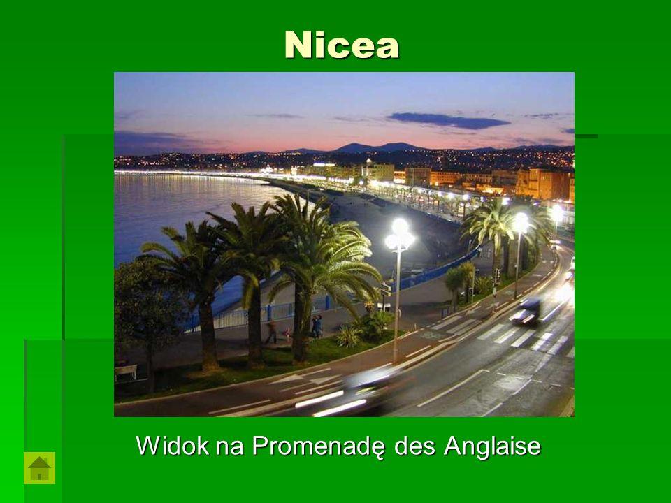 Widok na Promenadę des Anglaise