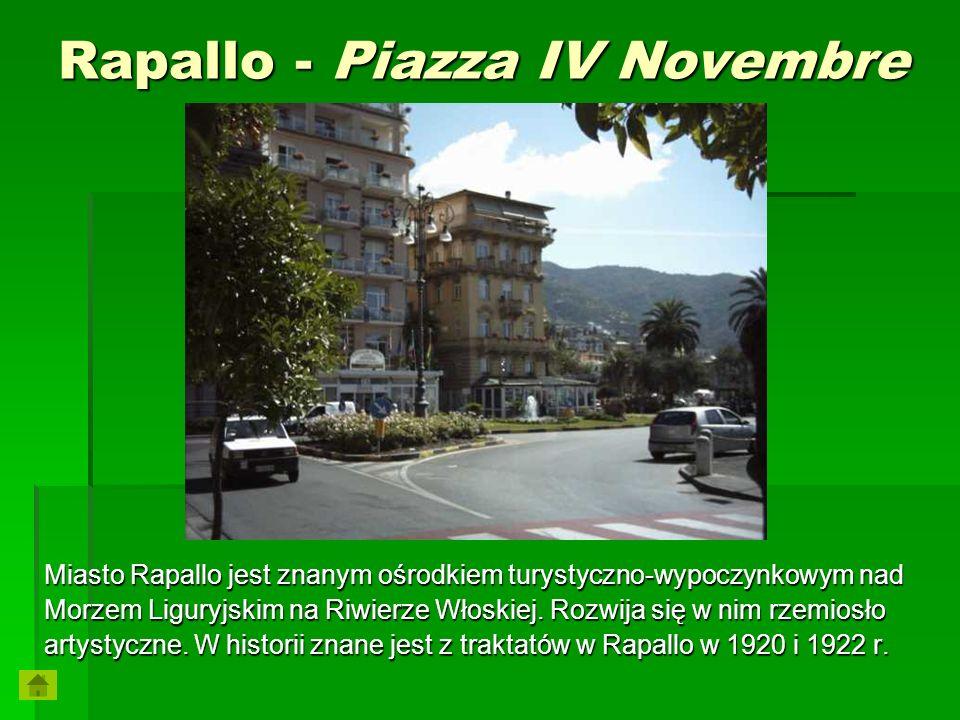 Rapallo - Piazza IV Novembre