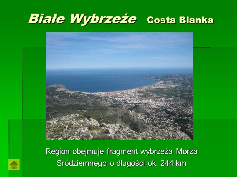 Białe Wybrzeże Costa Blanka