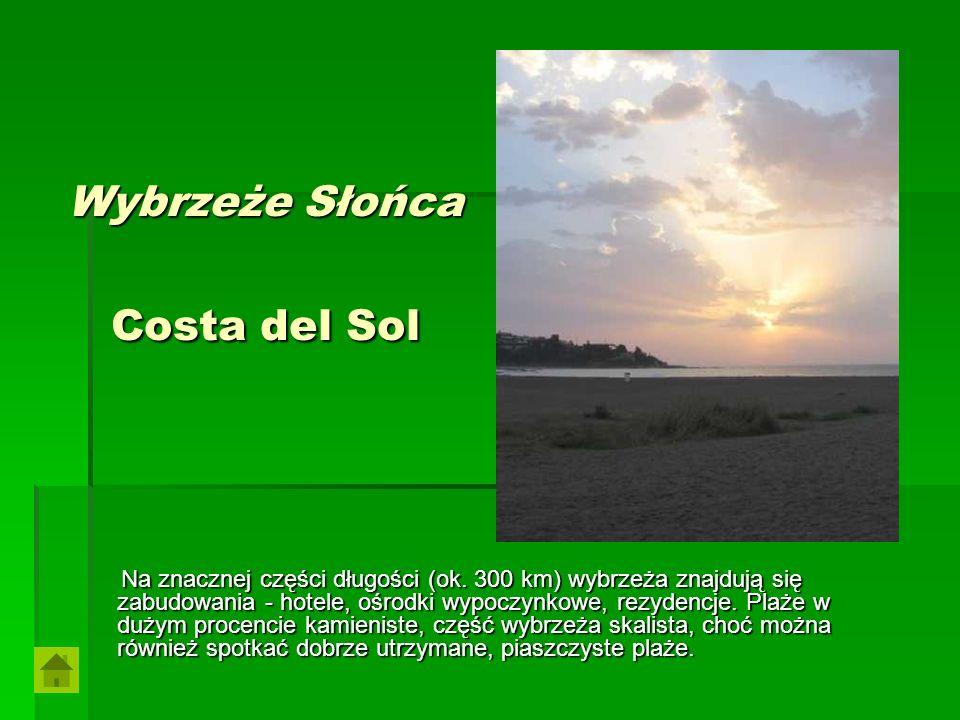 Wybrzeże Słońca Costa del Sol