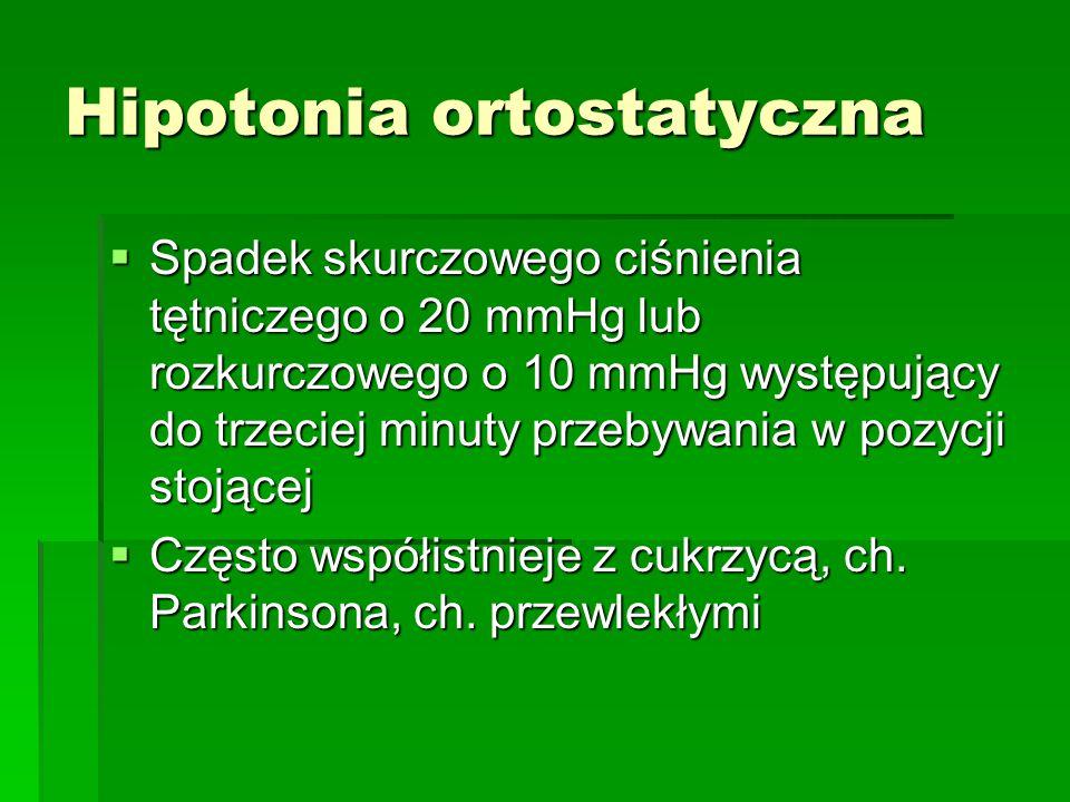 Hipotonia ortostatyczna