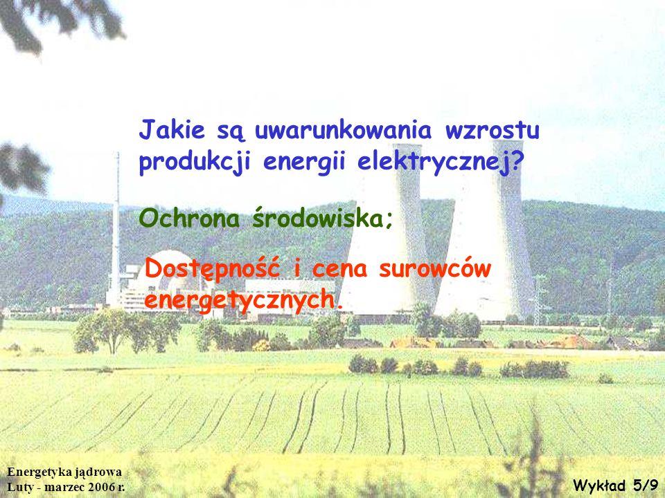 Jakie są uwarunkowania wzrostu produkcji energii elektrycznej