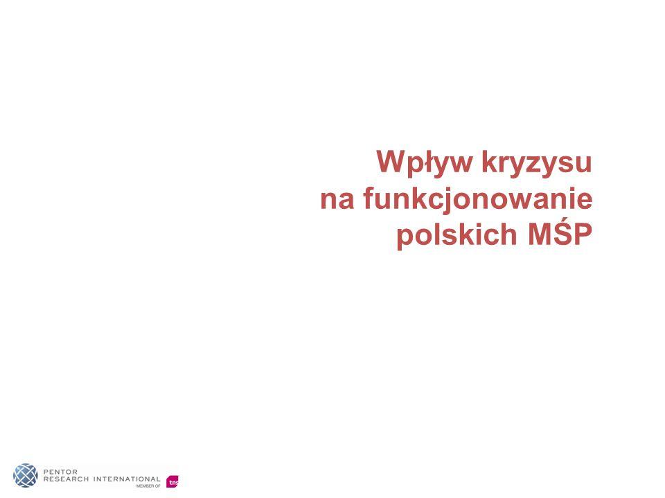 Wpływ kryzysu na funkcjonowanie polskich MŚP