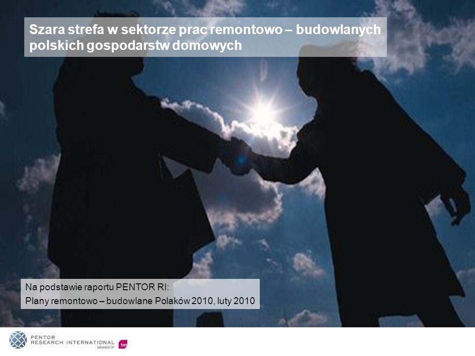 Szara strefa w sektorze prac remontowo – budowlanych polskich gospodarstw domowych