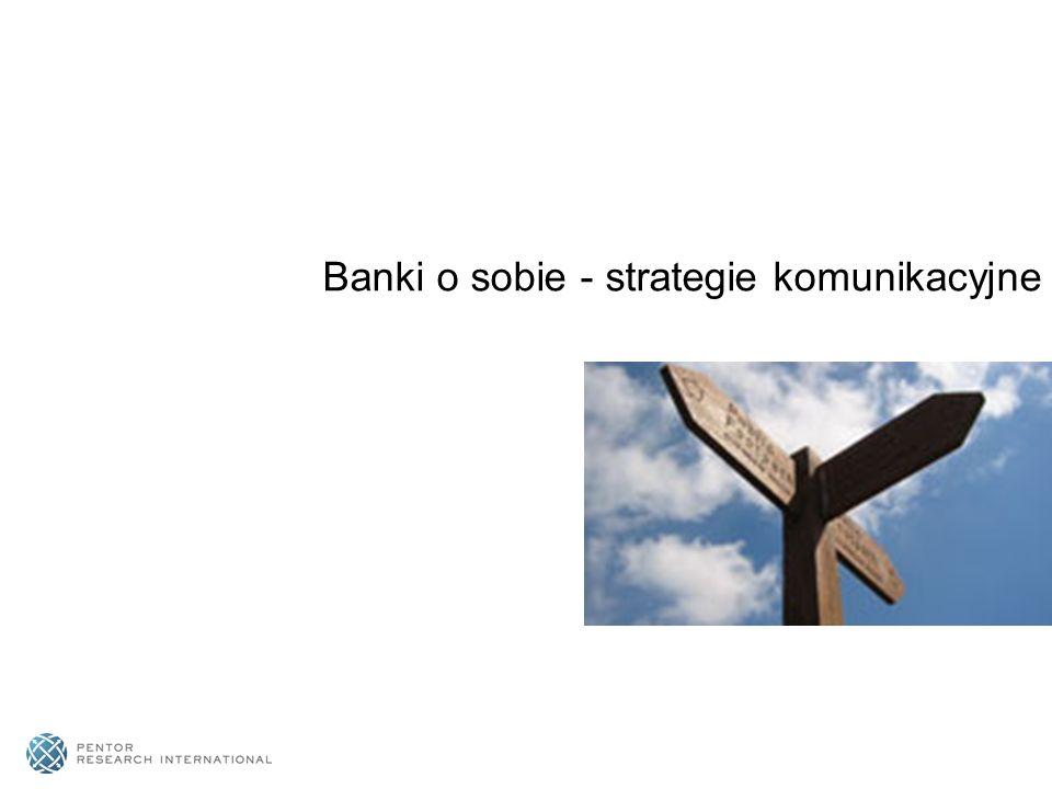 Banki o sobie - strategie komunikacyjne