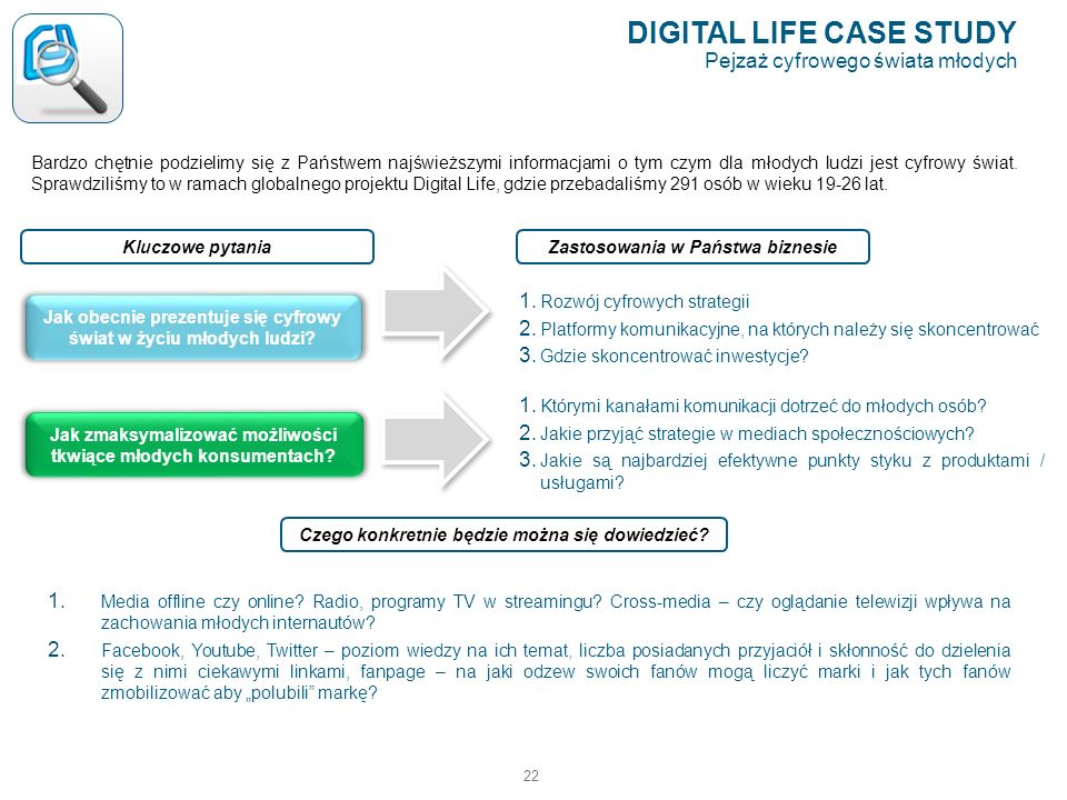 DIGITAL LIFE CASE STUDY