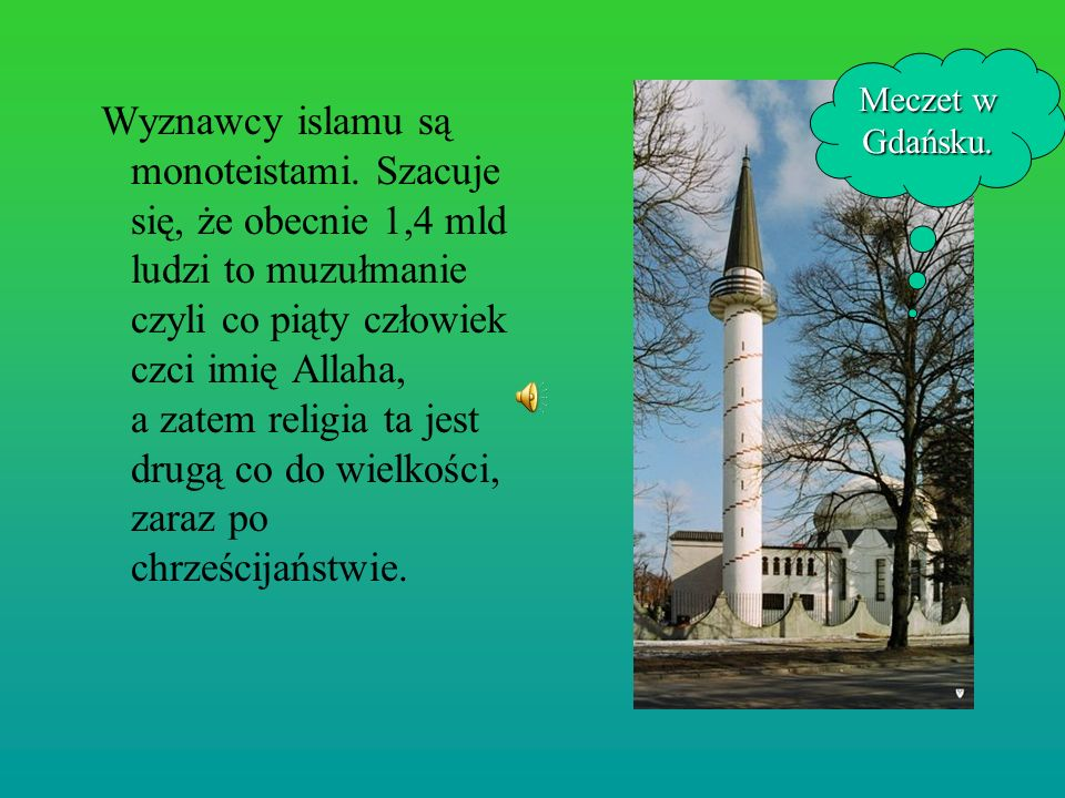 Meczet w Gdańsku.