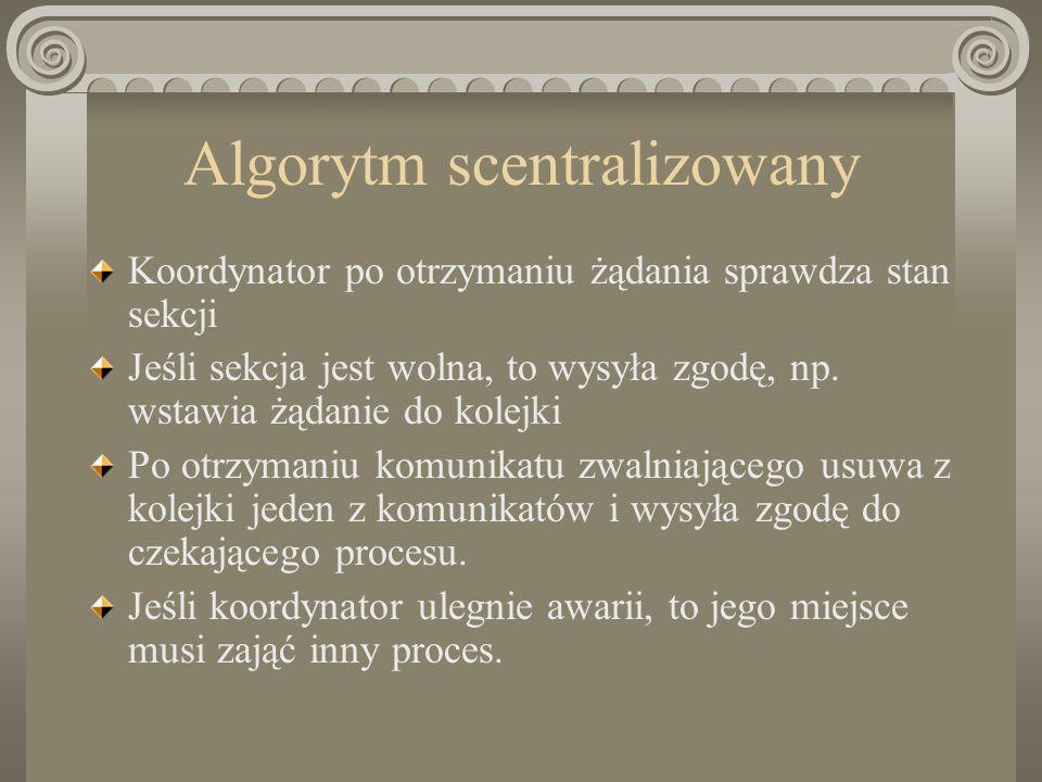 Algorytm scentralizowany