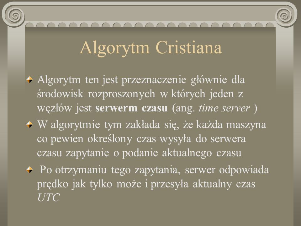 Algorytm Cristiana