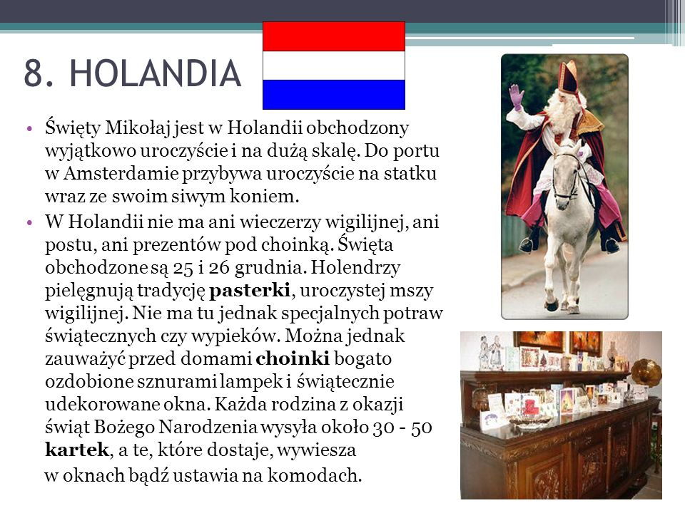 8. HOLANDIA