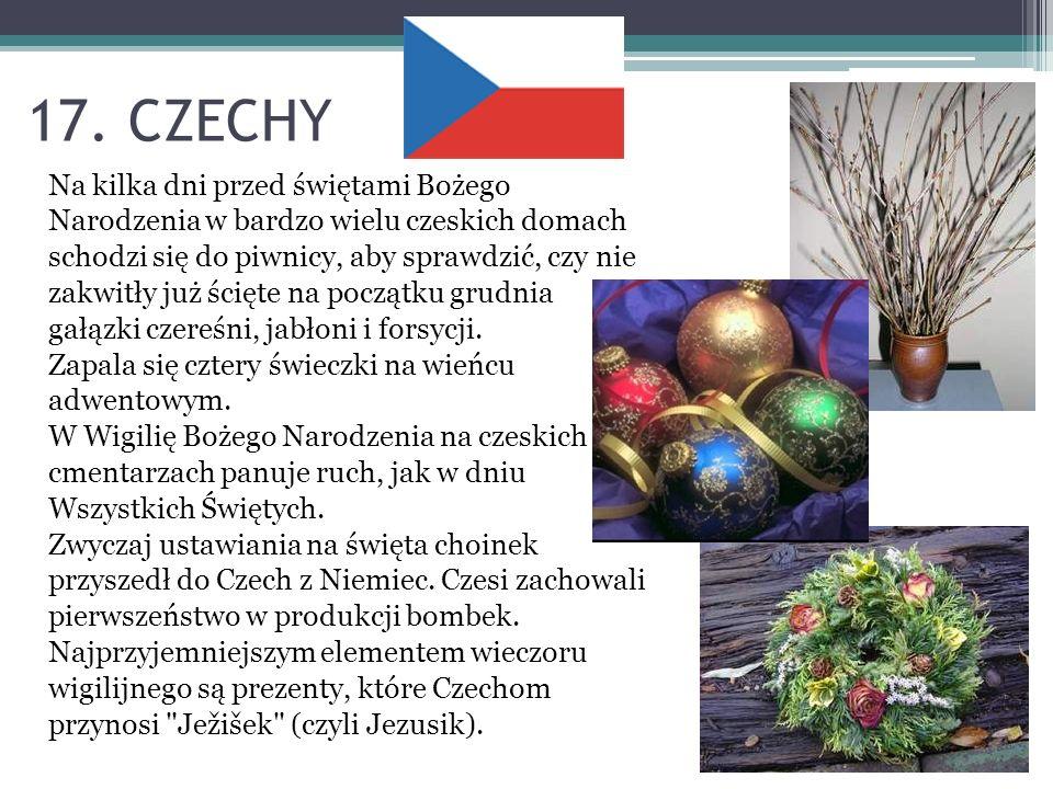 17. CZECHY