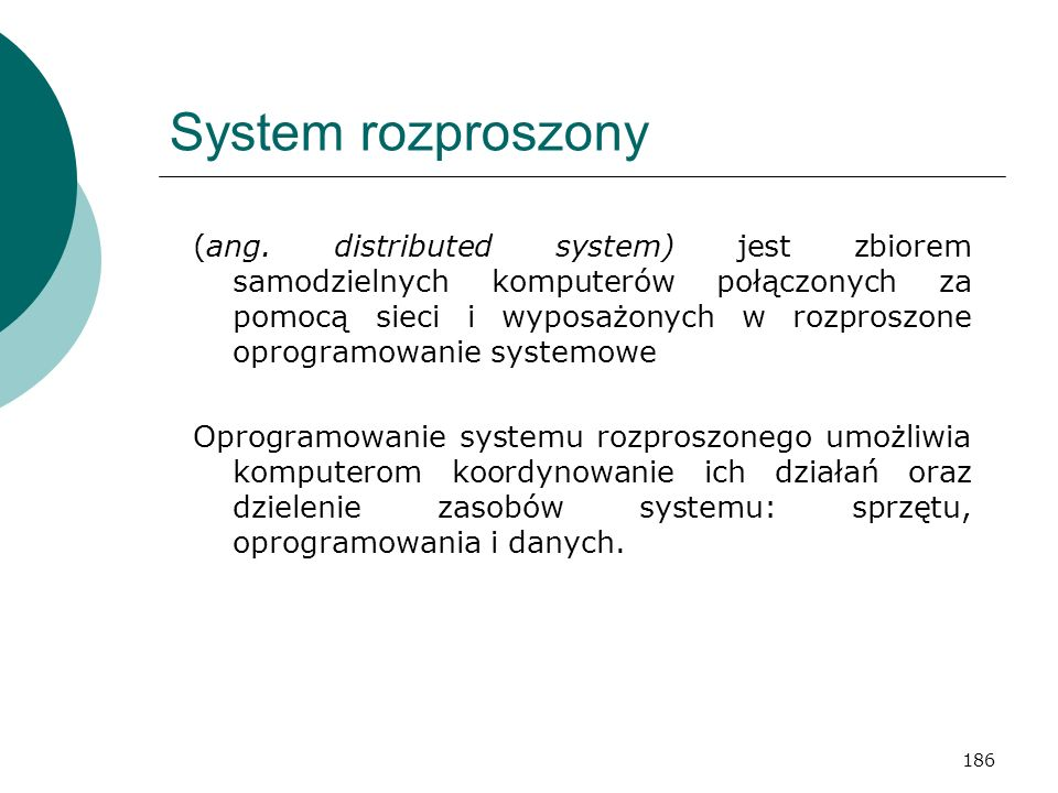 System rozproszony