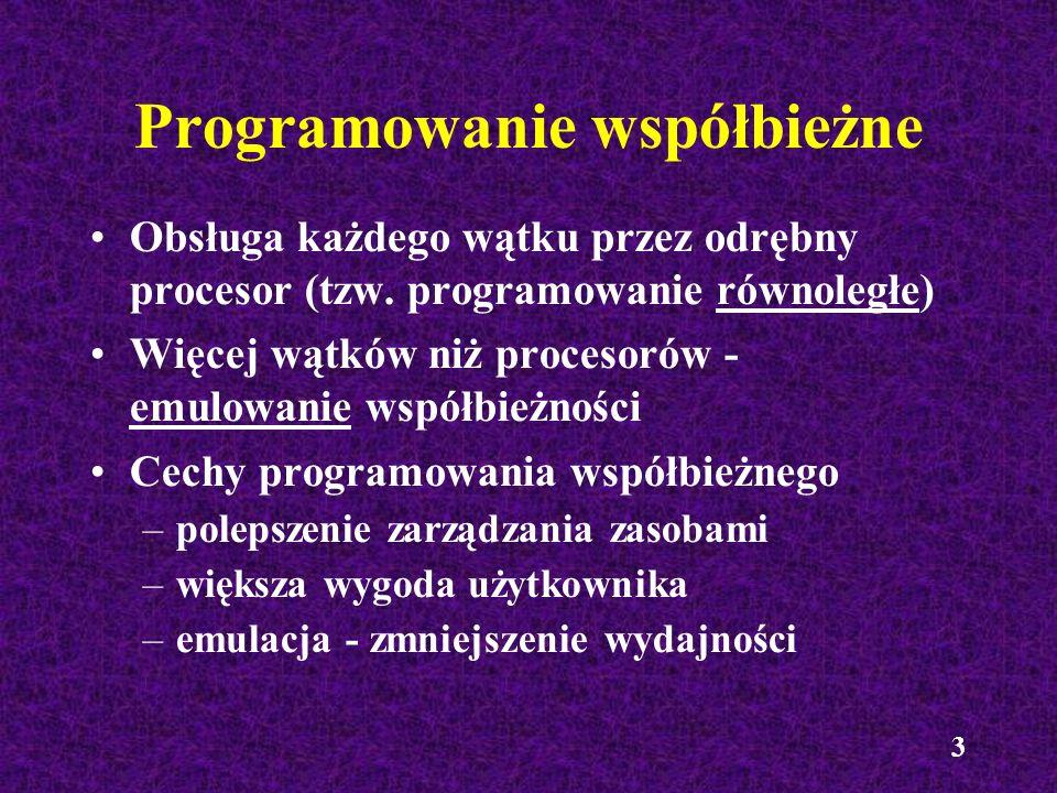 Programowanie współbieżne