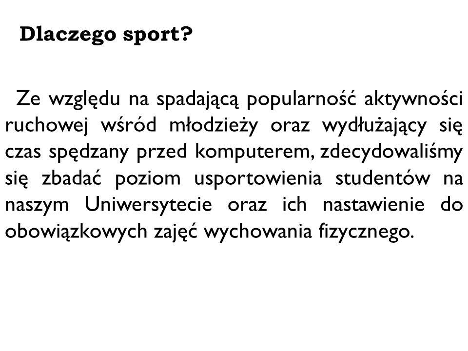 Dlaczego sport