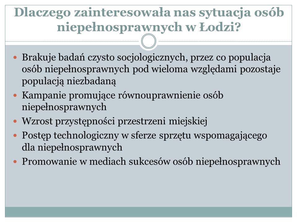 Dlaczego zainteresowała nas sytuacja osób niepełnosprawnych w Łodzi