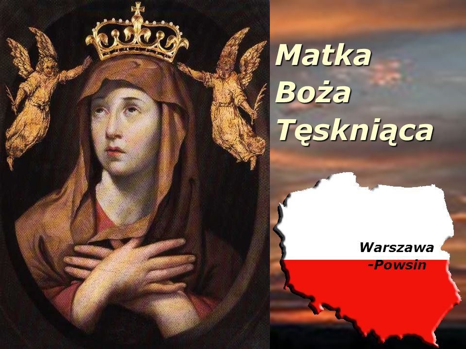 Matka Boża Tęskniąca Warszawa -Powsin