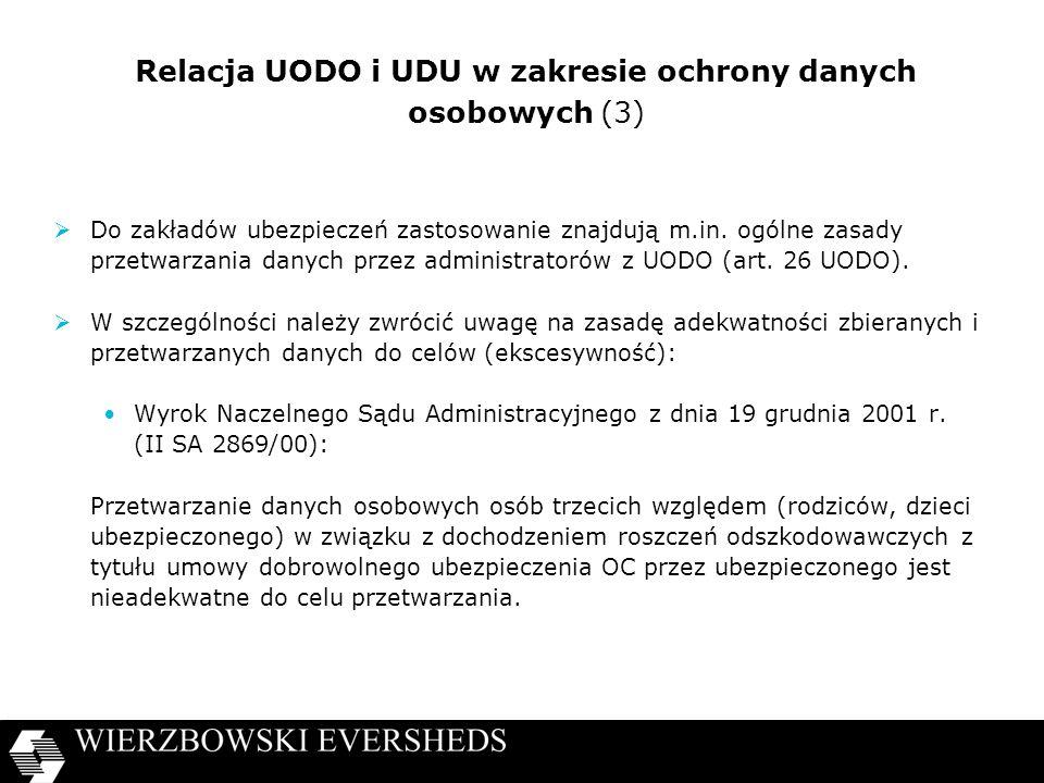 Relacja UODO i UDU w zakresie ochrony danych osobowych (3)