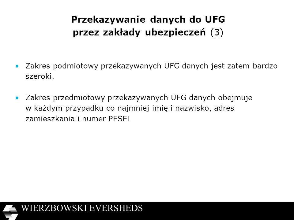 Przekazywanie danych do UFG przez zakłady ubezpieczeń (3)